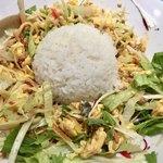 天津飯店 - 麺を食べ終えたらご飯を投入
