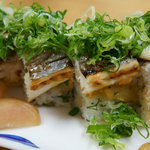 華ぶさ - 太刀魚の炙り寿司