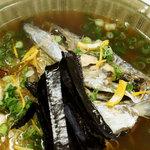 華ぶさ - 太刀魚の出汁素麺