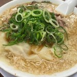 来来亭 - 料理写真:ワンタン麺 (牛レバー唐揚げ定食)