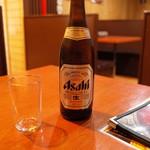 領頭羊火鍋 - 瓶ビール