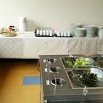農家レストラン 大地 - お茶は無料