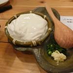 丸善水産 - ざる豆腐