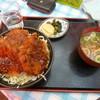 松喜食堂 - 料理写真:ソースかつ丼3枚850円