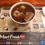 MeetFresh 鮮芋仙  - 芋園2号 HOT (ハト麦+さつまいも+タピオカ)+タロイモ