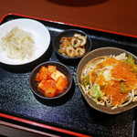 チョンサチョロン - 前菜たち