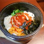 チョンサチョロン - 明太子 石焼ビビンバ定食 ¥880