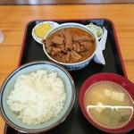 76795274 - もつ大 レディースご飯定食