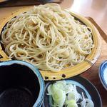 秋月庵 三次郎 - 料理写真:ざる蕎麦大盛り