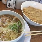 中華そば桐麺 - 料理写真:鶏青湯塩つけ麺(あっさり)2017.11.9