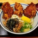 76796727 - 鶏唐ぶっかけ 860円