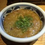 まるげん - 太麺つけそば