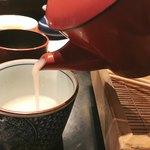 紗羅餐 - 蕎麦湯