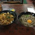 大名そば - 丼セット全容…600円