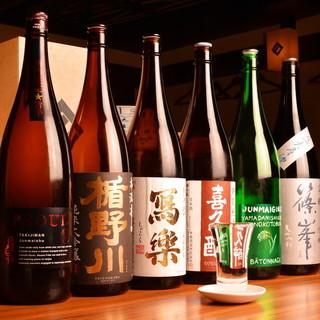 香り豊かな季節の日本酒をご用意♪