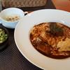 ミエル - 料理写真:ビーフシチューのオムライスのセット