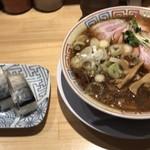 76799779 - サバ醤油そば(並)サバ寿司セット