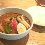 カレージム CHELSEA - チキン野菜スープ大盛り