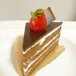 田むら - チョコとチョコのケーキ(360円)