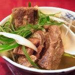 牛たんの一仙 - テールスープ(2011年5月)