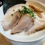 麺縁 ジョウモン - 豚塩ラーメン