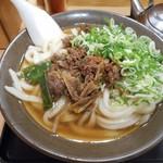 76800596 - 肉うどん 2017.10