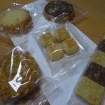 銀座ウエスト - 料理写真:焼き菓子