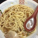 ゆうらい - もちもち太麺  よそではこういう組み合わせなく 面白い!麺の量は大盛といってもいいぐらいあります