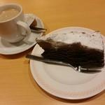 ジョイフル - 料理写真:クラシックチョコレートケーキ、コーヒー【2017.11】