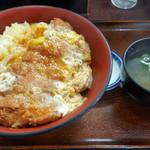 味一番 - 料理写真:カツ天丼