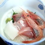 レストラン漁連 - お造り盛合せ