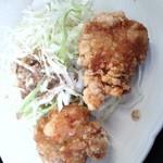 レストラン漁連 - 唐揚げ