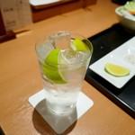 串幸 - 宮崎産ノンワックスレモンの強炭酸サワー