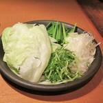 しゃぶしゃぶ温野菜 - 追加お野菜。
