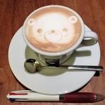 Fresco Caffe - ドリンク写真:オルゾ・ラッテ(ホット) 450円