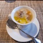 ヴィンチ - 【鶏の燻製と高原野菜のスープ 今牧場さんチーズ<茶臼岳>入り】★2017/11