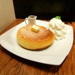 石釜 ベイクブレッド 茶房 タムタム - 石釜焼きホットケーキ♡