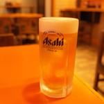 元祖ニュータンタンメン本舗 - 生ビール
