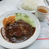 ボーイズカレー - 料理写真:ハンバーグ定食700円