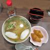 かりゆしの灯 - 料理写真:沖縄そば いなりセット