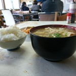 水主亭 - 巨大味噌汁 2017年11月