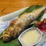 田楽 - 鮎の串焼