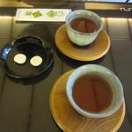76815059 - 落雁 & お茶