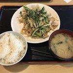府内わっぱ食堂 - ニラ豚定食