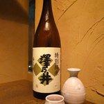 和彩dining 花 - 澤の井 純米(550円)