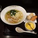 ebisugyouzataihouki - 鶏絲湯麺(チースータンメン)Bセット990円