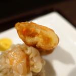 大豊記 - 鶏絲湯麺(チースータンメン)Bセット990円春巻