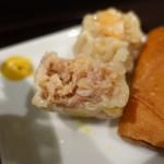 大豊記 - 鶏絲湯麺(チースータンメン)Bセット990円焼売