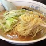 76823706 - みそラーメン 麺リフト