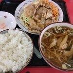 埼玉や - 料理写真:生姜焼Cセット 780円